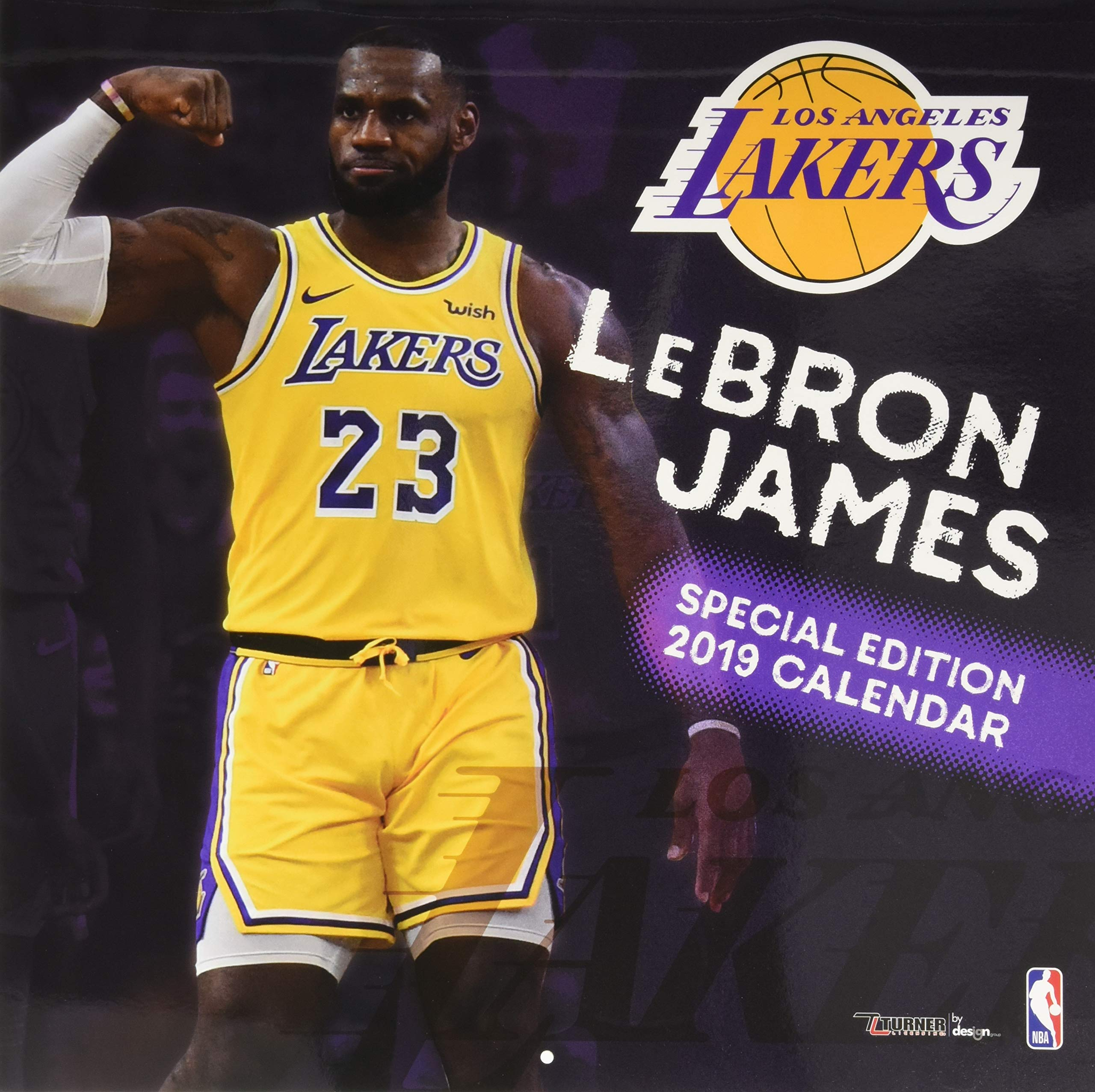 ceee24c7fcb Los Angeles Lakers Lebron James 2019 Calendar Calendar – Wall Calendar,  December 1, 2018