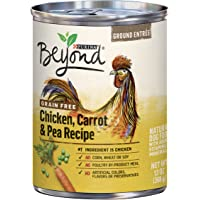 Purina Beyond Grain Free Chicken Carrot & Pea Recipe Ground Entree Adult Wet Dog Food