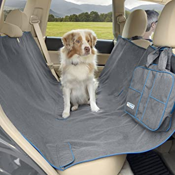 kurgo heather dog hammock  u2013 pet seat cover  u2013 waterproof  u0026 stain resistant amazon     kurgo heather dog hammock   pet seat cover      rh   amazon