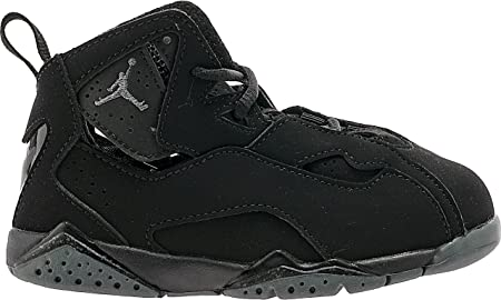0330ce6867a8e1 Nike Toddler Boy s Jordan True Flight Black Dark Grey 9C  Amazon.co ...