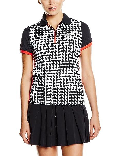 Xfore Polo Camiseta de Golf con Cremallera, Manukau, con Mangas en ...