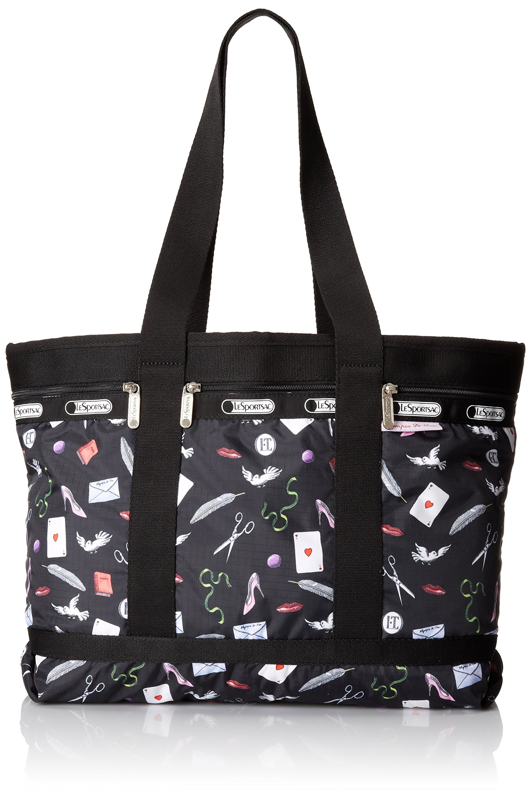 LeSportsac Medium Travel Tote, Love Letters, One Size
