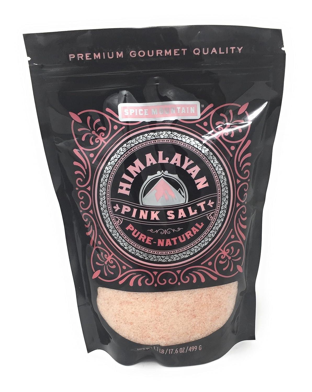 Amazon com : Spice Mountain Himalayan Pink Salt Pure-Natural