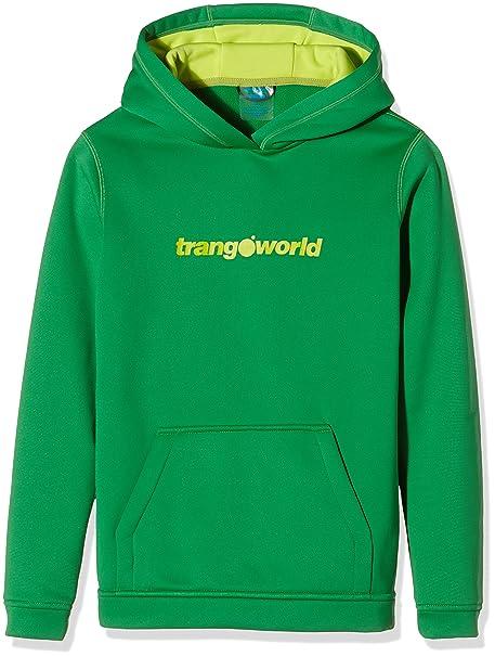 Trangoworld Kura Sudadera, Unisex niños, Verde Claro, 14