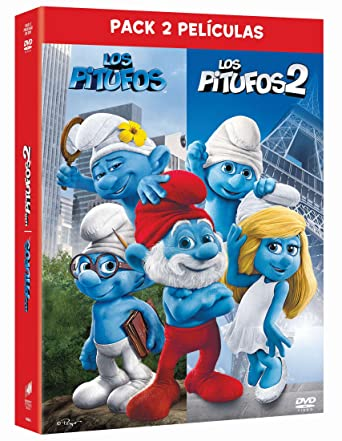Pack: Los Pitufos 1 + Los Pitufos 2 [DVD]: Amazon.es: Neil Patrick Harris, Jayma Mays, Katy Perry, Jonathan Winters, Raja Gosnell, Neil Patrick Harris, Jayma Mays, Sony Pictures Animation: Cine y Series TV