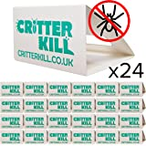 Spider Trap 24 Pack Spiders And Multi Insect Woodlice Ants Beetle Cockroaches Fleas
