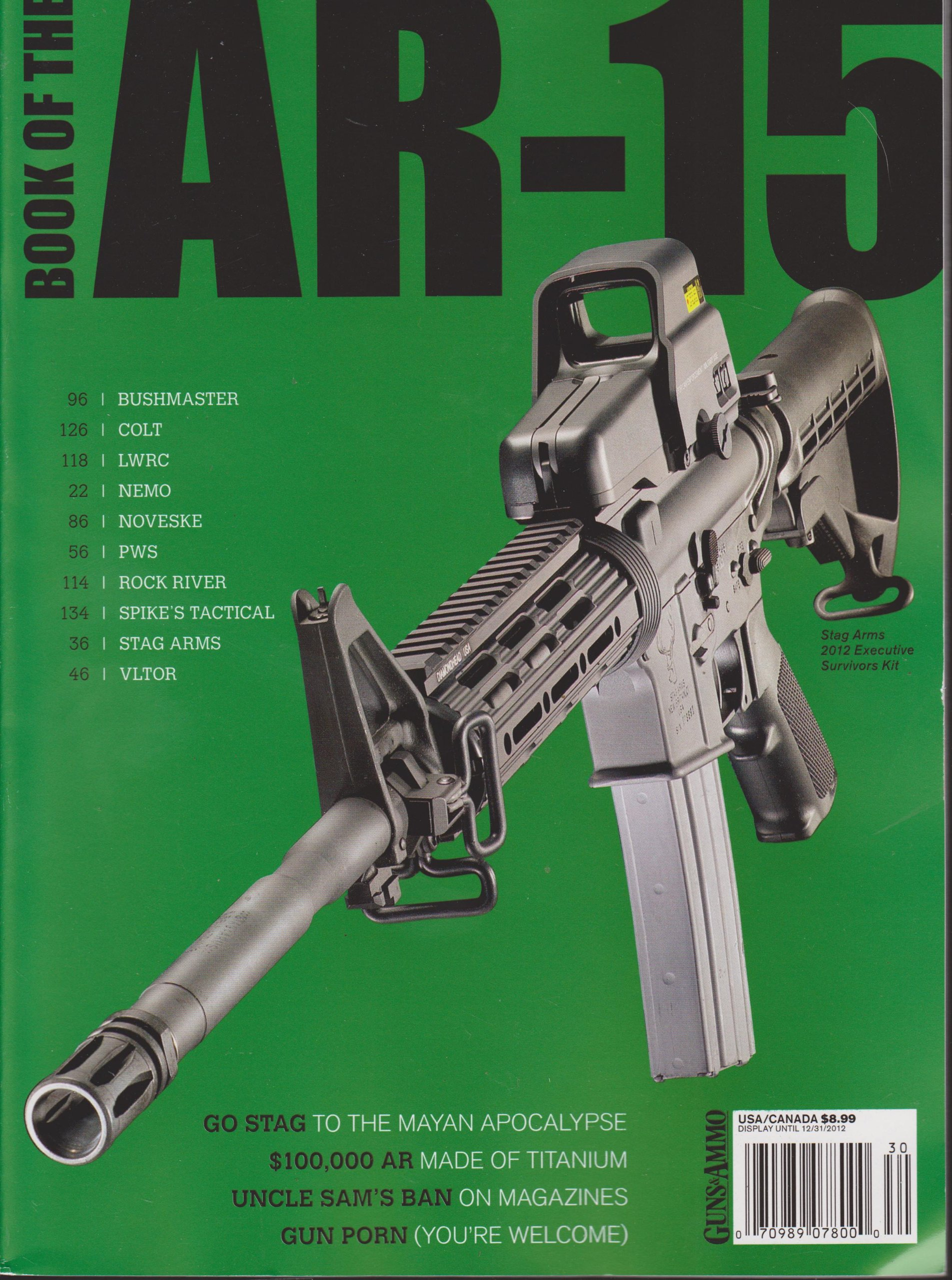 Book of the AR-15 Fall 2012: Amazon com: Books
