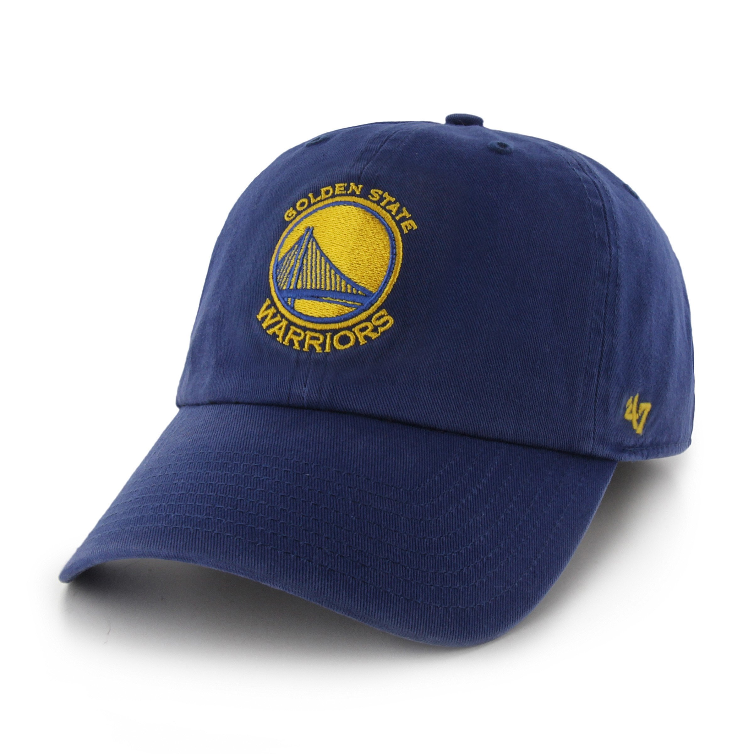 '47 NBA Golden State Warriors Clean Up Adjustable Hat, Royal, One Size by '47