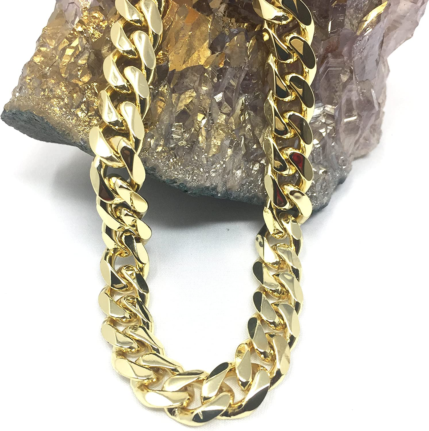 """Details about  /14K Yellow Gold 1.5mm Mens Womens Solid Diamond Cut Rope Chain Necklace 16/""""-24/"""""""