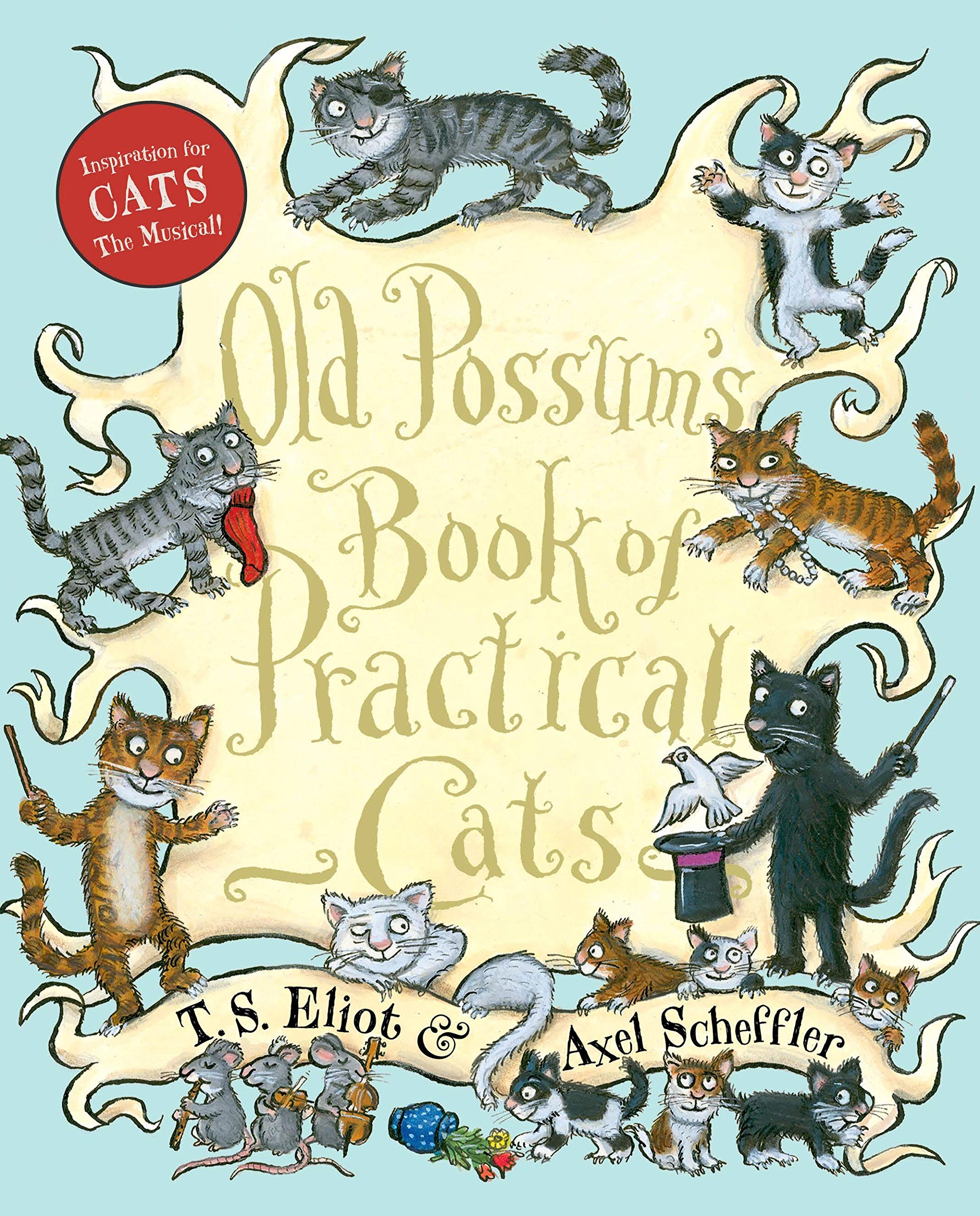 Old Possums Book Of Practical Cats Amazones T S Eliot