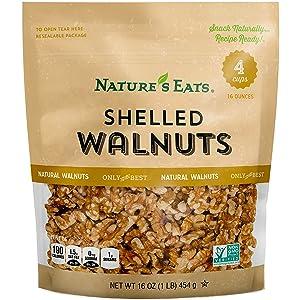 Nature's Eats Walnuts, 16 Ounce
