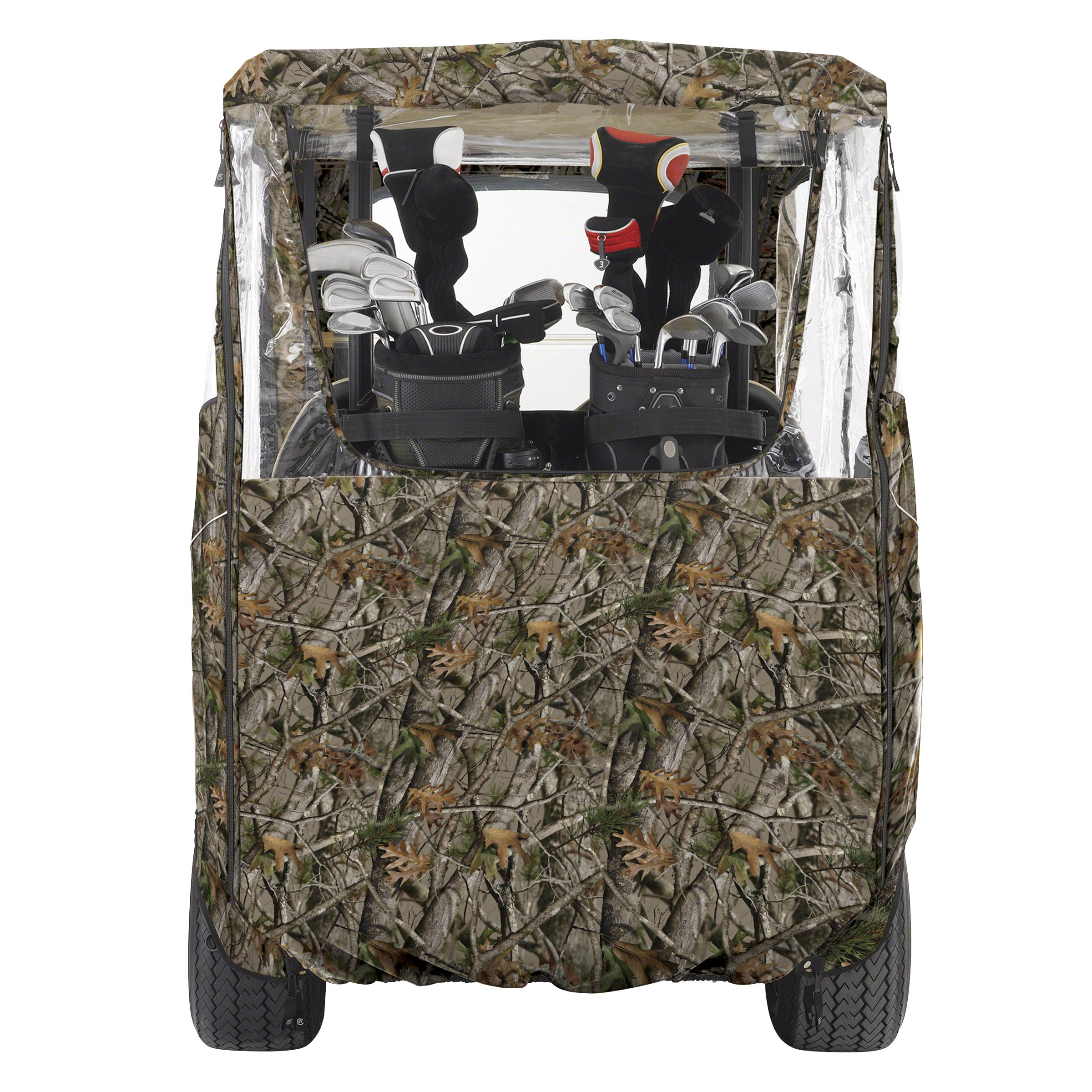 Classic Accessories Fairway Golf Cart Deluxe Enclosure, Camo by Classic Accessories (Image #4)