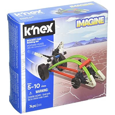 K'NEX - Rocket Car Building Set 74 Pieces For Ages 5+ Construction Education Toy: Toys & Games
