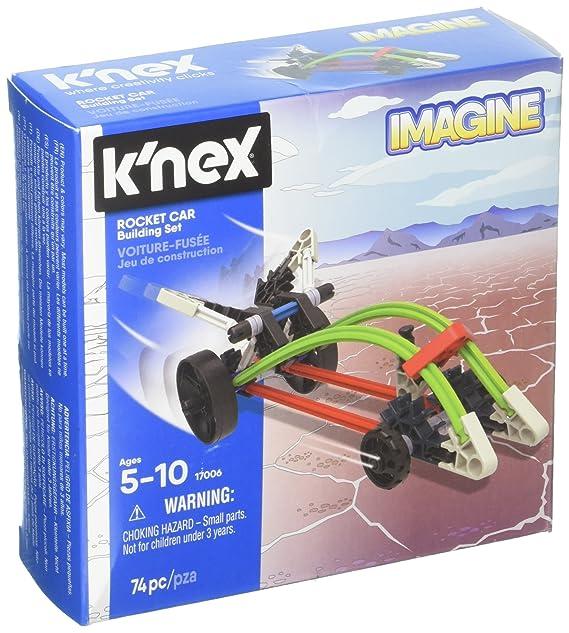 KNex Juego de construcción de Coche Cohete Imagine: Amazon.es ...