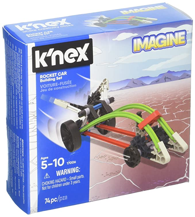 K'NEX - Rocket Car Building Set  74 Pieces  For Ages 5+ Construction Education Toy