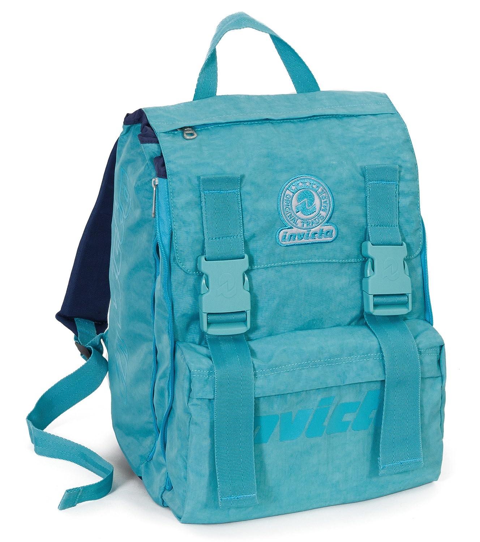 81f5828d54 Zaino Scuola Invicta + Easy Trolley + Portapenne - Azzurro - Estensibile, elementari  e Medie 28 LT: Amazon.it: Sport e tempo libero