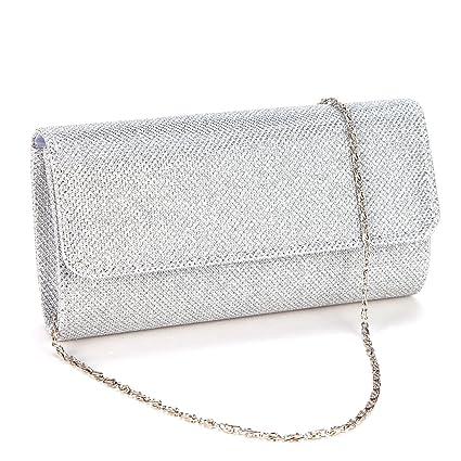 Anladia Ladies Evening Party Small Clutch Bag Bridal Purse Handbag Shoulder  Bag  Amazon.co.uk  Luggage 0f85e60d3be3f