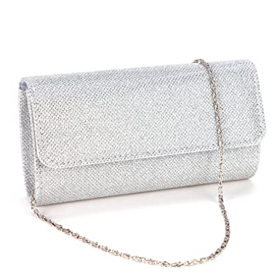 13d1da3475810 Anladia Mini Sac a Main Pochette Style Portefeuille Glitter pr Soiree  Mariage Femme Fille 3couleur: Amazon.fr: Chaussures et Sacs
