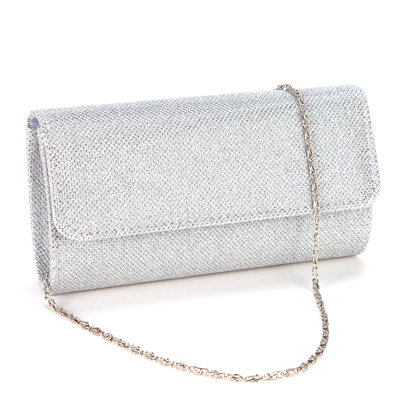 Ladies Evening Party Small Clutch Bag Bridal Purse Handbag Cross Body Tote by Anladia (Image #1)