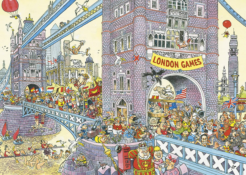 Jumbo 17230 Wasgij Mystery Puzzle No.8 - The Final Hurdle! Jigsaw ...