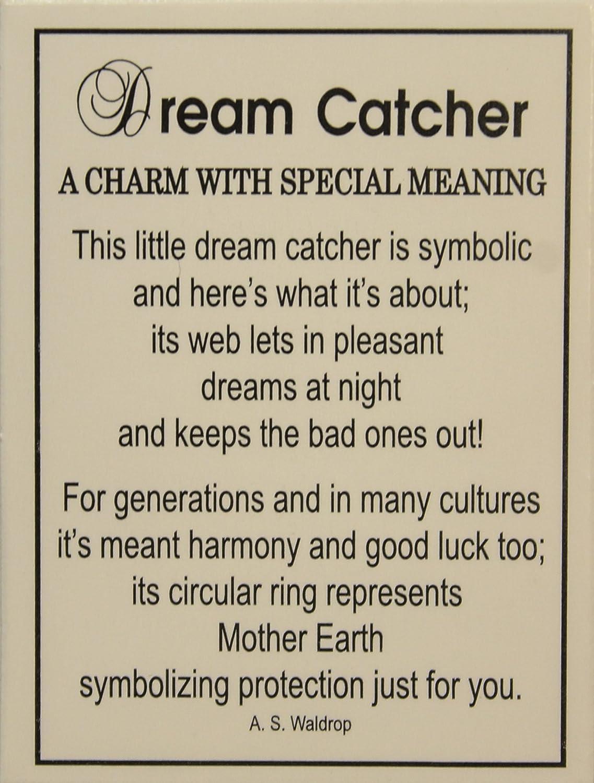 Dream Catchers Symbolism Amazon Tiny Little Dream Catcher Pocket Charm With Story Card 33
