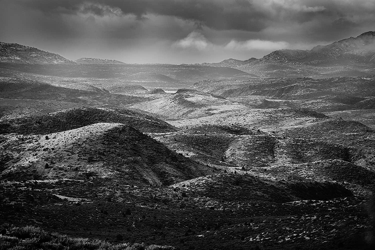 Landscape photography arizona winter landscape desert fine art photography black and white photography southwest nature photography monochrome