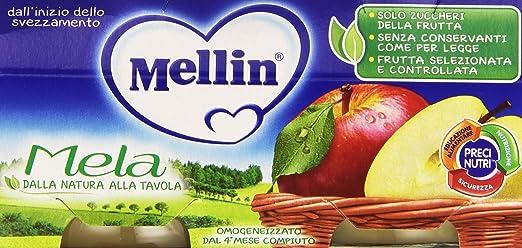8 opinioni per Mellin- Omogeneizzato, Mela- 200 grams (2 vasetti)