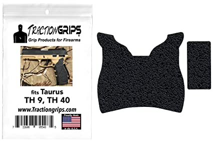 Tractiongrips Rubber Grip Tape Overlay for Taurus TH9, TH40, TH 9, TH 40