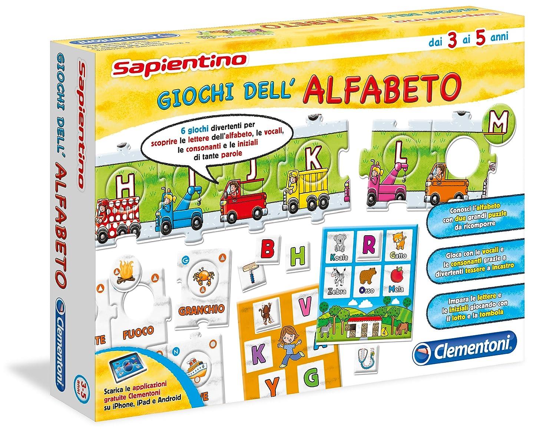 Eccezionale Clementoni 13222 - Sapientino Giochi dell'Alfabeto: Amazon.it  UO09