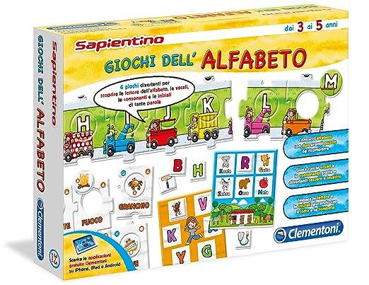 42 opinioni per Clementoni 13222- Sapientino Giochi dell'Alfabeto