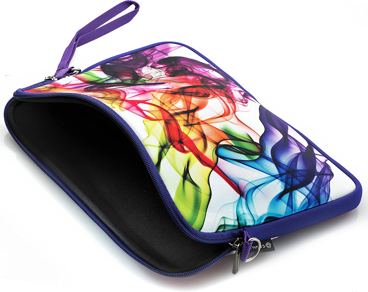 Colorful Caseling Neoprene Sleeve Pouch Case Bag for 14 Inch Laptop Computer Designed to fit Any Laptop Notebook Ultrabook MacBook with Display Size 1 inches