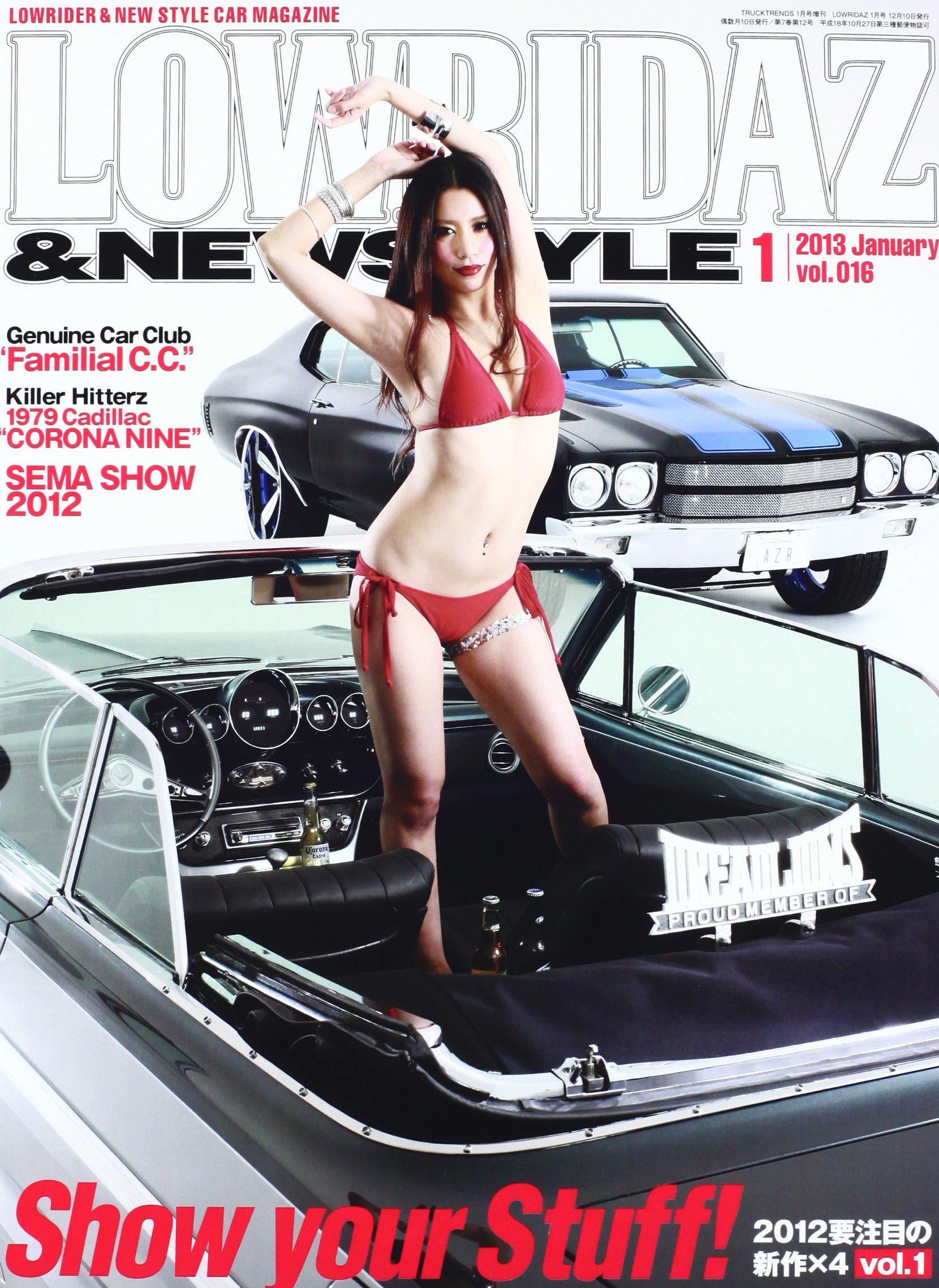 Download Lowridaz & new style magazine Vol. 16 [ January 2013 ] Japan Japnese Lowrider Magazine ebook