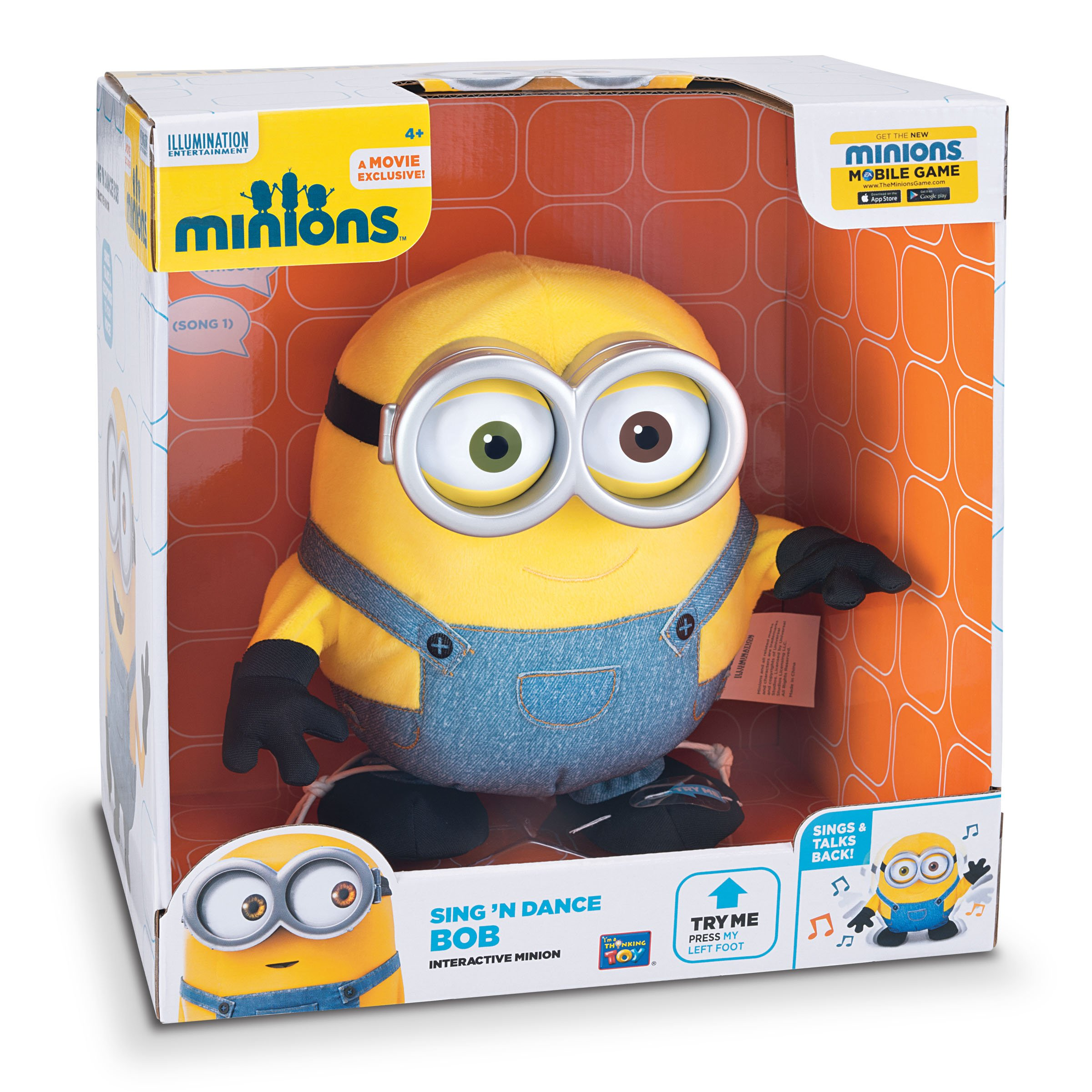 Minions Sing' N Dance Bob by Despicable Me