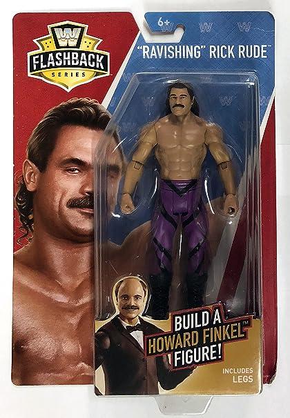 WWE Basic Flashback Series Ravishing Rick Rude Action Figure Build Howard