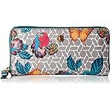 Anne Klein Slim Zip Around Small Wallet