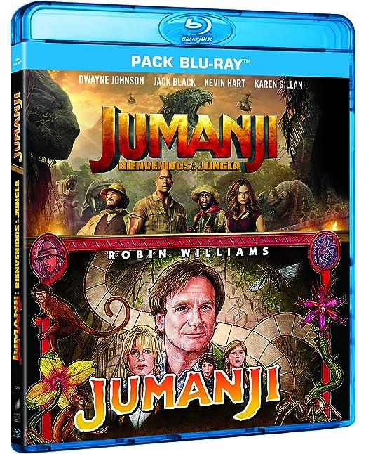 Pack: Jumanji 1995 + Jumanji: Bienvenidos A La Jungla Blu-ray ...