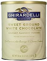 Ghirardelli Sweet Ground White Chocolate Flavor Powder, 3.12 lbs.