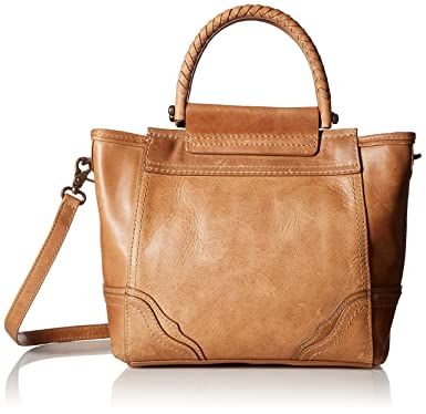 10a809da4 Amazon.com: FRYE Riviana Mini Leather Tote Crossbody, beige: Clothing