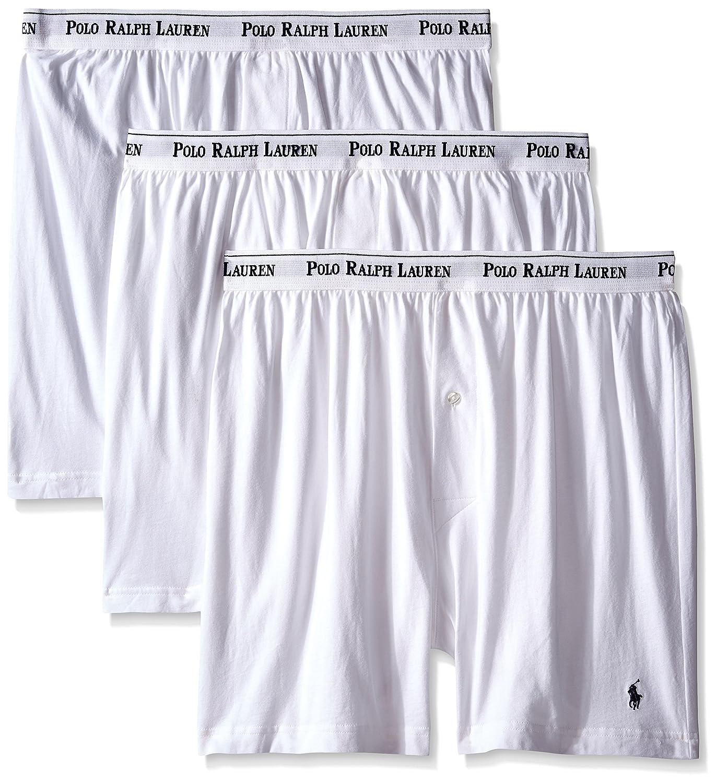 Polo Ralph Lauren Mens Knit Logo Waistband Boxers