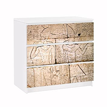 Amazon De Apalis 91638 Mobelfolie Fur Ikea Malm Kommode Egypt