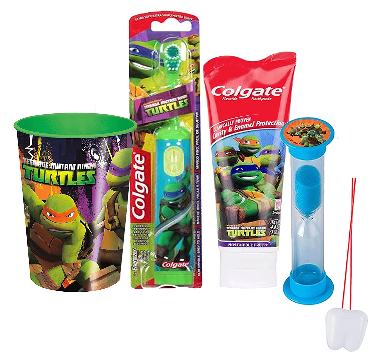 Amazon.com: Teenage Mutant Ninja Turtles 4pc Bright Smile ...