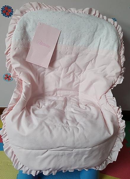 Colchoneta rosa y Blanca Maxicosi Uzturre: Amazon.es: Bebé