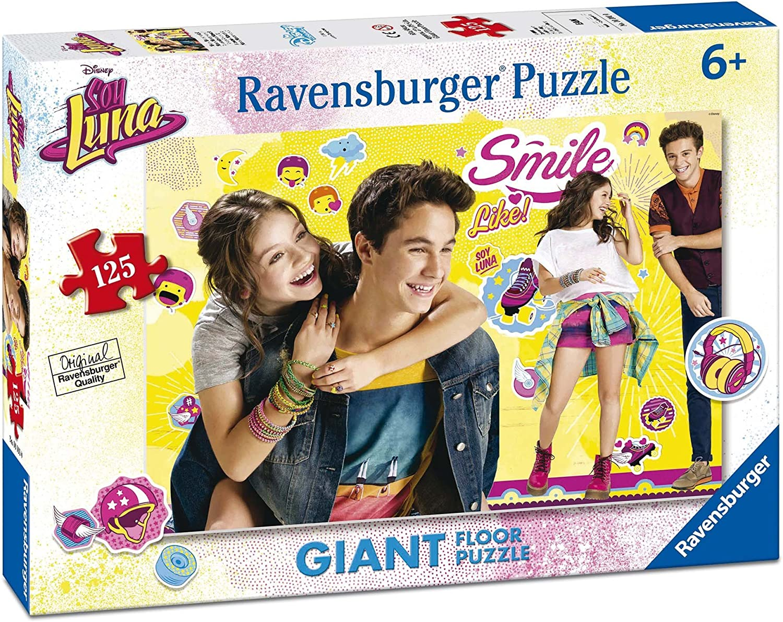 Soy Luna - Puzzle Gigante de 125 Piezas (Ravensburger 09782): Amazon.es: Juguetes y juegos