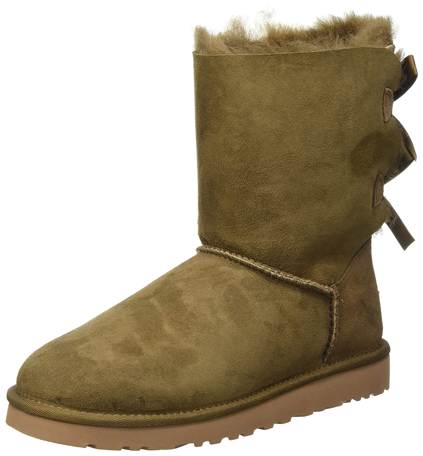UGG Bailey Doublure Bow, Bottes Doublure ChaudeFemme Marron Bow, (Dry (Dry Leaf) 6974001 - tbfe.space
