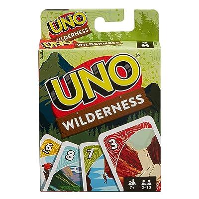 UNO: Wilderness - Card Game: Mattel: Toys & Games