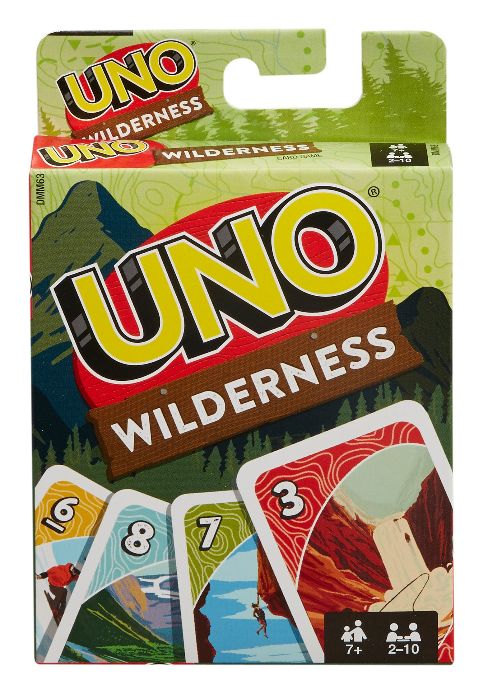 Mattel UNO Wilderness Card Game