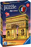 Ravensburger Italy - Arco di Trionfo Puzzle, 3D Building, Night Edition, 12522