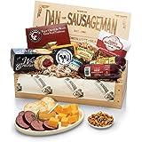 Dan the Sausageman's Favorite Gourmet Gift Basket -Featuring Dan's Original Sausage, Seabear Salmon, 100% Wisconsin Cheeses,