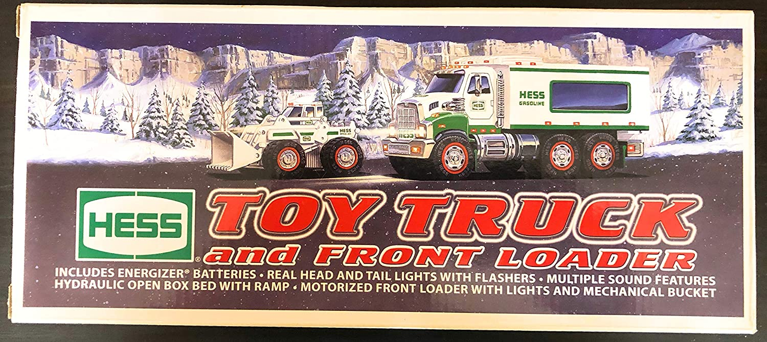 HESS TOY TRUCK AND FRONT LOADERS 2008 *NEW*
