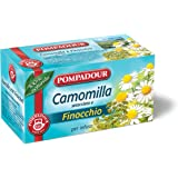 Pompadour - Tã© Per Infuso Camomilla Setacciata E Finocchio, In Bustine Da 2 G,  - 18 Bustine